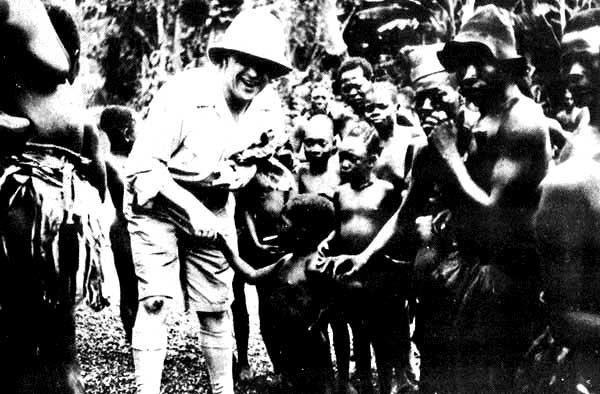 Un Bwana au milieu de Bamboula, ou l'imagerie colonialiste par excellence