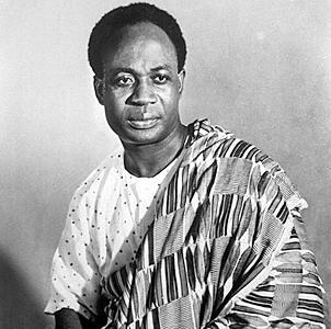 Kwame Nkrumah : 21-09-1909 au 27-04-1972