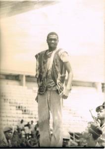 Avril 1973 : Pierre brandi comme un trophée par le régime Ngouabi
